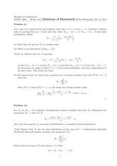 Solutions of Homework 4