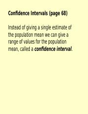 Week 16 Lecture  Confidence Interval.ppt