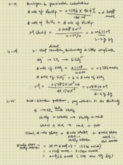 Ch11 lecture note problem solution