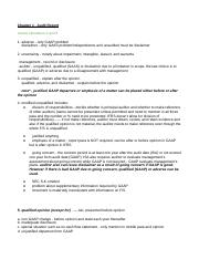 AICPA_Auditing_Study_Notes