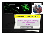 Lecture9_ProteinsII part4_PreLectureFinal_Feb3rd2014