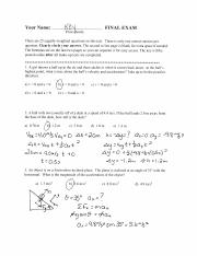 Physics101_Final_exam_solutions