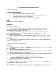 1314S2 CCN2014 Food Hygiene Individual assignment