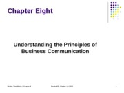 16. Principles of Business Communication