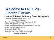 ENEE205 Fall2013 Lecture8 Gomez