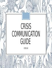 Crisis Communication Guide.pptx