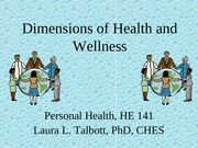 1. Dimensions of Health and Wellness