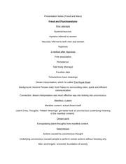 frued and modern psychoanalysis essay What is psychoanalysis  sigmund freud (left) with his friend wilhelm fliess  read also = on psychoanalysis (essay by freud, 1913.