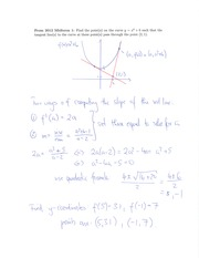 MATH 180 Slant Asymptote Review Solutions