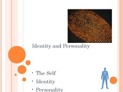 Emotion.Identity and Personality