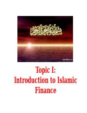 Topic 1 Introduction to Islamic Finance.pptx