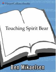 edwin touching spirit bear