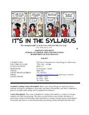 Course Syllabus PSY 203-13 Fall 2017(2).docx