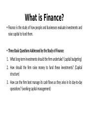 1.long term financing - Student