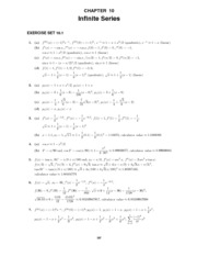 Calculus Early Transcendentals Solutions Manual Chapter 10