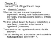 ch21NormaltestofHypothesesonmu.studentview