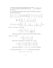 Linear Algebra Solutions 6