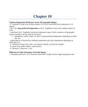 biology 2F03 chapter 10