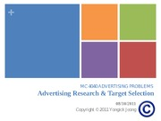 MD_11F_4040_W2_0830_Advertising_Research_and_Target_Selection