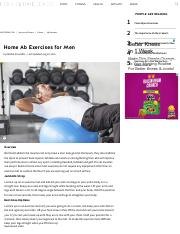 Home Ab Exercises for Men _ LIVESTRONG