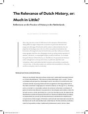 Article re The Relevance of Dutch History.pdf