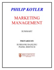 kotler-summary-110915000408-phpapp01