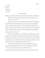 Gatsby Research Paper
