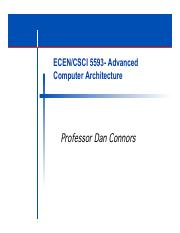 ECEN5593-Introduction