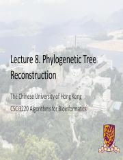 CSCI3220_2014Fall_08_PhylogeneticTreeReconstruction.pdf