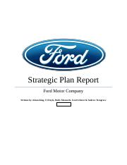 FINAL REPORT - Ford Motor Company (1)