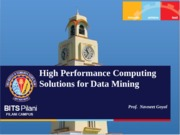 High Performance Computing Solution for DM.ppt