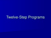 PP17 12 Step Programs.ppt