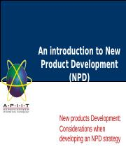Lecture 07- The Role of Market Research in NPD.pptx