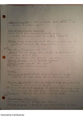 Opportunity Cost, class notes