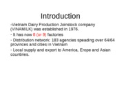 Vinamilk - Current SCM - Slides - Giang&Tuan part