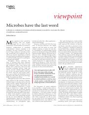 Microbes have the last word.pdf