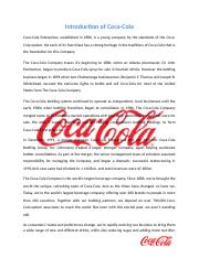 coca cola evaluative analysis..pptx.docx