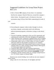 BLE 215 Suggested Guidelines for Group Projectc-3