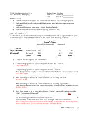 Recitation 5 (Two-Way Tables & Sampling).docx