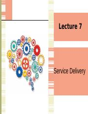 Lecture 7 Service Delivery.pptx