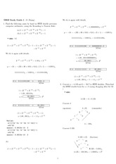 Exam 1 Study Guide Solution Spring 2009 on Engineering Mathematics III (Numerical Methods)