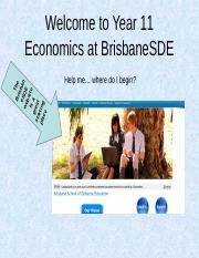 Welcome to Year 11 Economics 2018 for articulate.ppt