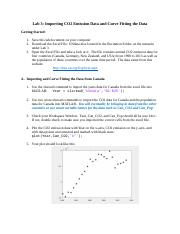 Lab 3 Importing Data and Curve Fitting.docx