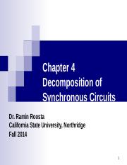 Chapter4_DecompositionsOfSynchronousCircuits.ppt