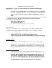 Marketing Chapter 3 Overview Summary.docx