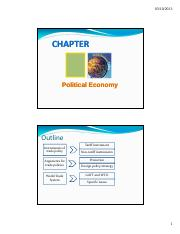 week 5 political economy and economic integration