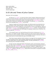 6.03 Life and Times of Julius Caesar.docx