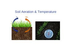 CH 07_Soil Aeration and Temperature