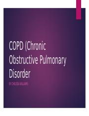 pathophysiology of copd essay Smoking is the most likely reason you're get copd find out what else can cause ongoing lung disease and what you can do to lower your chances of getting it.