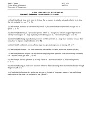 Spr 14 ANSWERS 3121 (Process Analysis)
